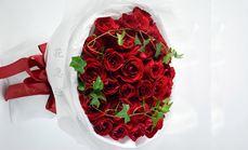 花急送33支玫瑰花束