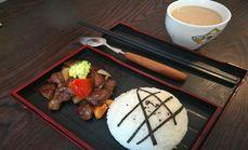 寻味寿司招牌牛肉饭套餐