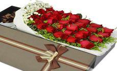 爱花苑33支玫瑰礼盒套餐