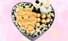 爱琴海178巧克力心形礼盒