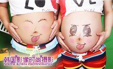 韩国影像摄影孕妈妈照套系