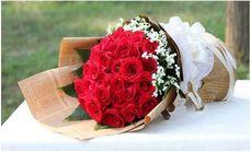 卉香园99支玫瑰花束四选一