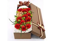 栀子花坊11支玫瑰礼盒套餐