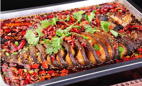 川北小镇烤鱼