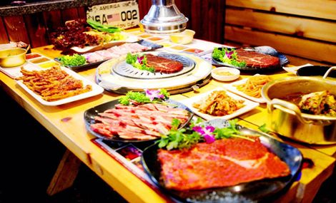 釜元烤肉串城(市标店)