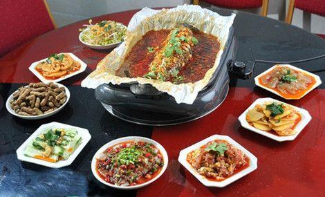 万州烤鱼纸包鱼(鸳鸯海阔天空店)