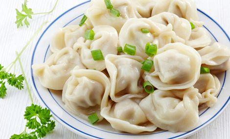 手工羊肉水饺