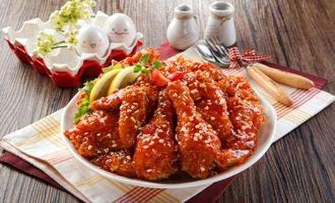 两只鸡韩国炸鸡