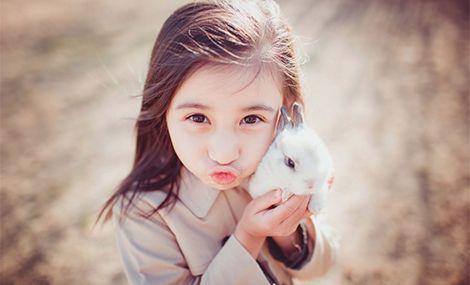 小卷毛儿童摄影