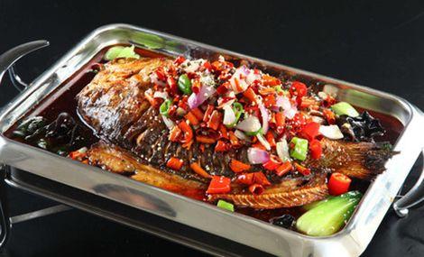 天斧石锅鱼纸上烤鱼