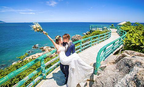 浅海岸婚纱摄影