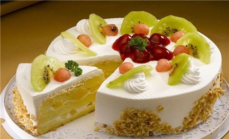 金麦穗蛋糕