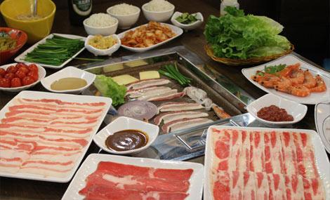 金百合烤肉