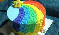多乐滋8英寸彩虹蛋糕