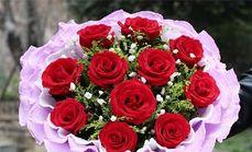 曼天飞羽花艺红玫瑰