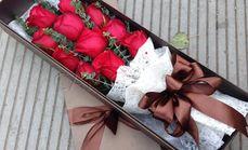 吾爱鲜花玫瑰礼盒