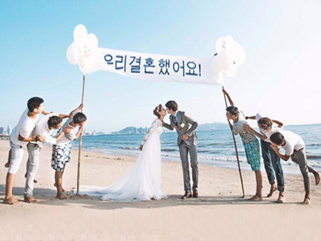 外滩婚纱摄影(韩国馆店)