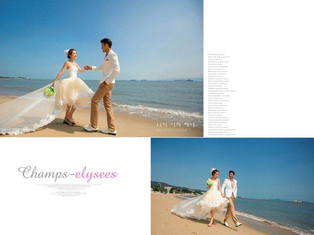 巴黎时尚婚纱摄影