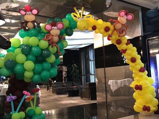 泡泡龙气球派对