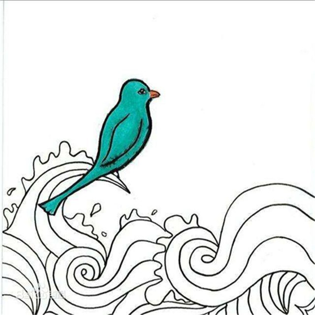 青鸟与诗刺青