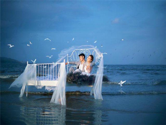 魔彩新娘婚纱摄影