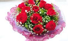 鲜花11支玫瑰套餐