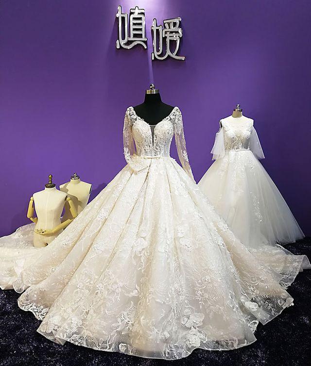 嫃嫒高定婚纱礼服