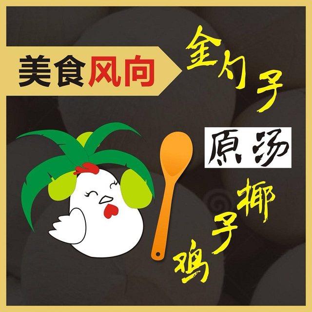 金勺子原汤椰子鸡