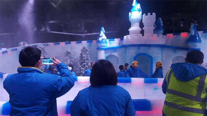 冰雪梦幻奇缘冰雕馆