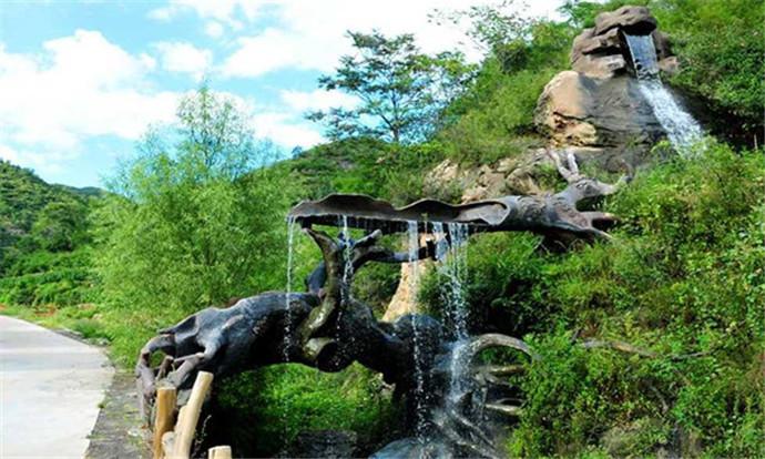 秋山原生态自然风景区