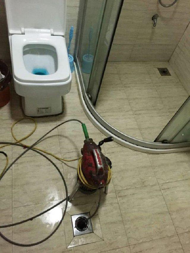 昊圣管道疏通空调水电工维修
