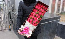 千百度33朵玫瑰花高端礼盒