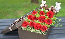 叶上花11朵玫瑰礼盒3选1