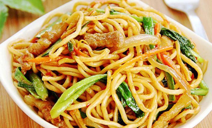 山西刀削面黄焖鸡米饭