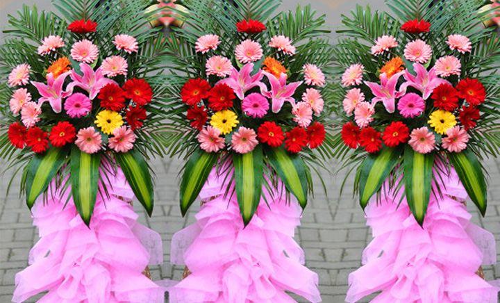 叶上花鲜花