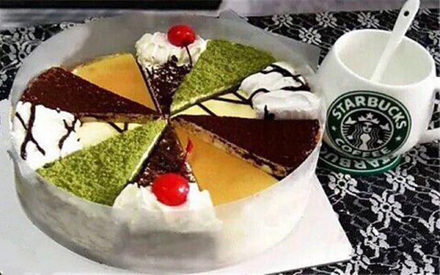 欧普艺术蛋糕