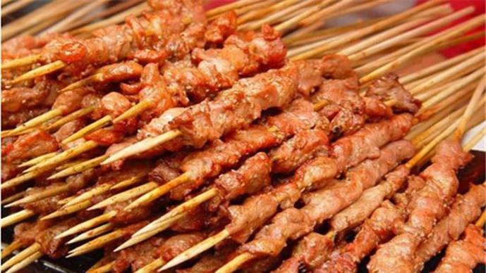 沙凤记油炸羊肉串(朝山接店)