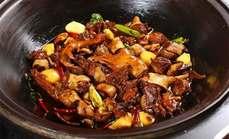 金手勺铁锅炖大鹅套餐