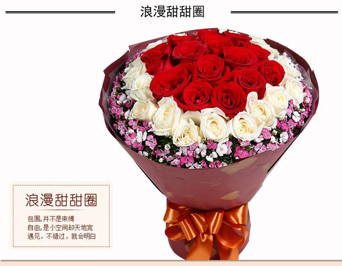 玫瑰之恋鲜花