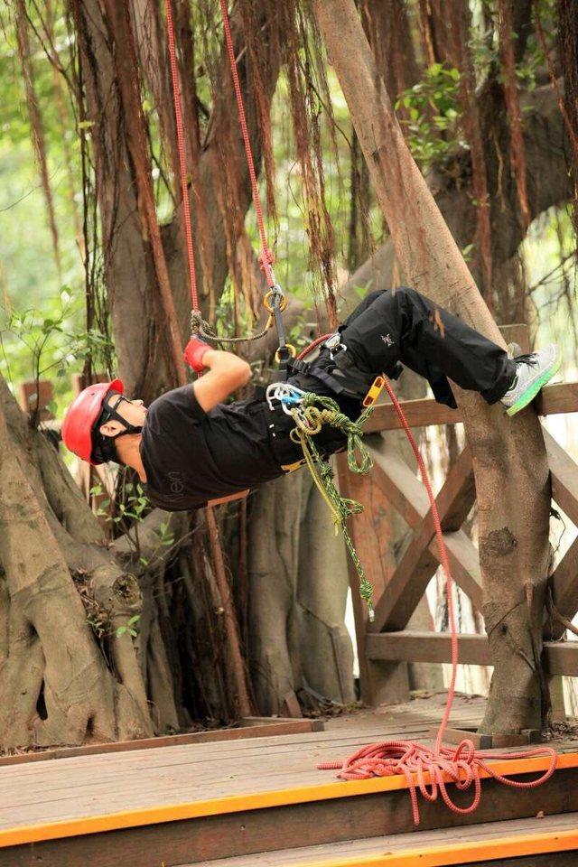 和合道HarmoTao攀树体验活动