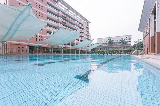 协和中学游泳场