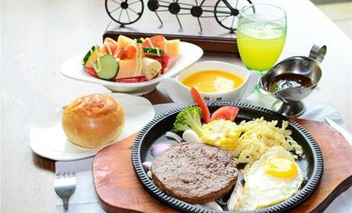 喆·啡酒店牛排豪华双人餐