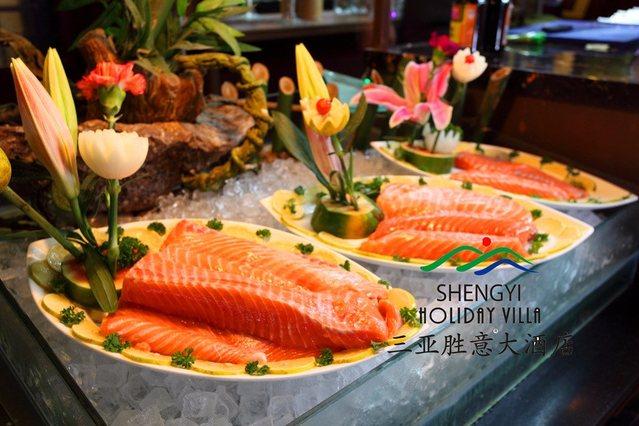 胜意大酒店海鲜自助BBQ餐厅
