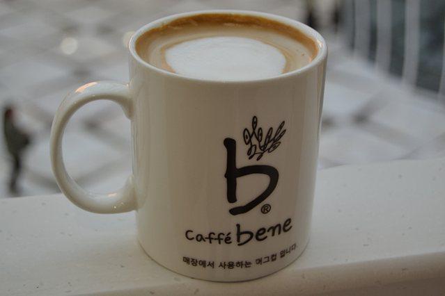 咖啡陪你CaffeBene(万达店)