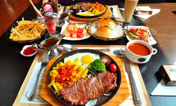 新上岛咖啡西餐厅(人民路店)