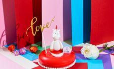 王子小红帽芝士奶油生日蛋糕