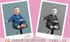 平安摄影儿童肖像照