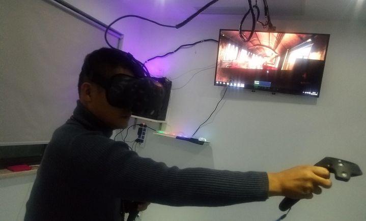酷玩空间VR虚拟现实体验馆