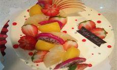 8英寸水果蛋糕