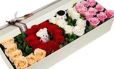 爱慕鲜花情人节礼盒
